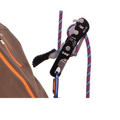 Rock Tree Climbing Fall Arrest Protection Stop Descender Rappel Safety Gear