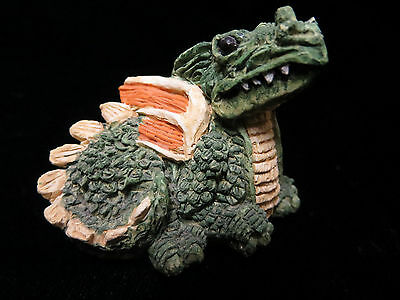 Green Dragon Stone Critter Littles Figurine SCL 003 Mythical Magical 1983