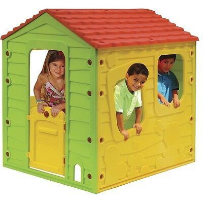 Kids Outdoor Play House Wendy Houses Garden Toys Backyard Childrens Playhouse