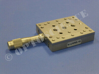 Newport M-UMR5.16 Linear Translation Stage with BM11.16 Micrometer, Metric