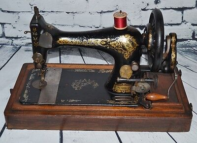 Antique Singer 28K Hand Crank Sewing Machine c1900 - FREE Delivery [PL2160]
