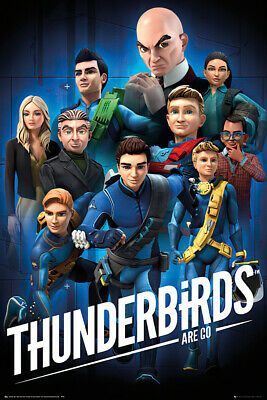 Thunderbirds Are Go - Tv Show Poster / Print (Character Montage)