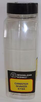OO HO Woodland Scenics Canister Shaker S194 for ballast & Scatters FNQHobbys