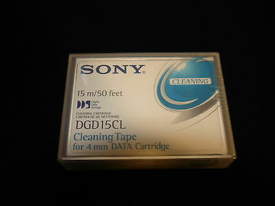 Sony DGD15CL 15 cleanings 4mm DDS Cleaning Cartridge 15m 50 feet