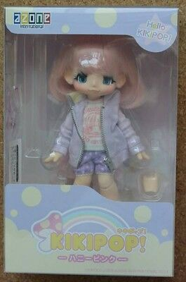 AZONE Hello KIKIPOP Honey Pink Kinoko Juice KIKI Doll Action Figure F/S NEW JP