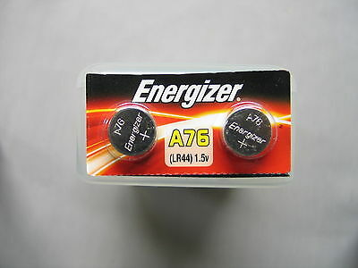 2 Energizer AG13 LR44 A76 357 303 Alkaline Button Battery Expire Date 2019