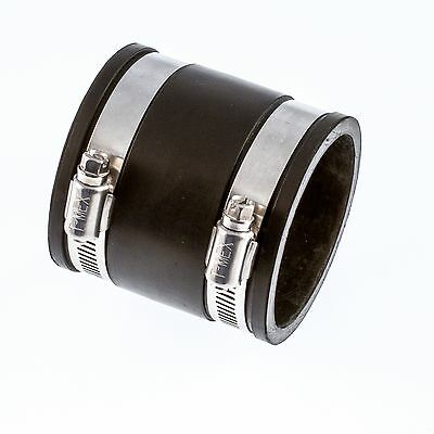 Flexible Rubber Boot Straight Coupling/Connector 25mm Up To 250mm Fast Delivery