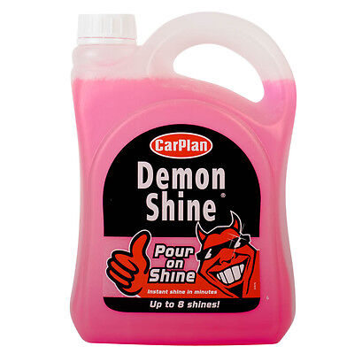 CarPlan Demon Shine Pour On Shine Car Wax Cleaning Polish No Effort 2 Litre