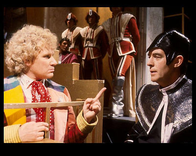 Michael Jayston & Colin Baker Unsigned Photo - 3703 - Doctor Who