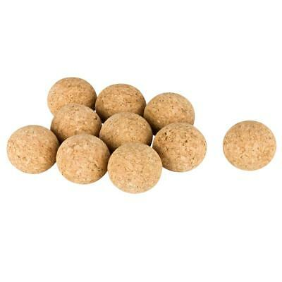 10 pcs. (natural) Cork Balls for Table Football (Table Soccer) very quietly