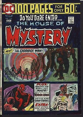House of Mystery 227 COVER ART Painting AND Proof AND File Copy! WOLFMAN & SATAN
