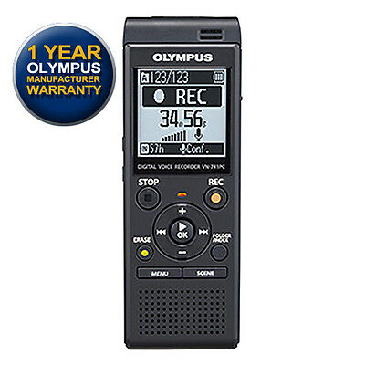 Olympus VN-741PC Digital Voice Recorder with GEN OLYMPUS WARRANTY