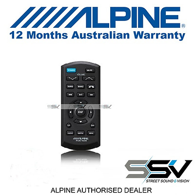 Alpine RUE-4350 IR Wireless Remote Control