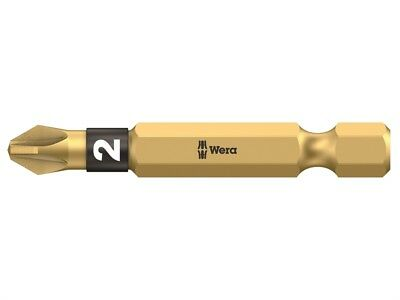 Wera WER059902004 855/4 BDC BiTorsion Pozidriv PZ2 Bit Diamond Coated Tip 50mm P