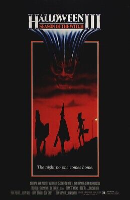 Halloween 3 Season of the Witch - A4 Laminated Mini Poster