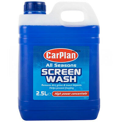 Carplan All Seasons Windscreen Screenwash High Power Concentrate 2.5 Litre