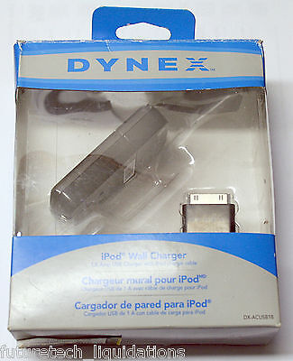 Dynex Ipod Wall Charger (Black) - Dx-Acusb1B