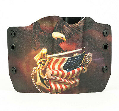 Taurus, Eagle On Flag, OWB Kydex Gun Holsters