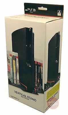 4Gamers Vertical Stand and Game Storage for PlayStation 3 PS3 NEW