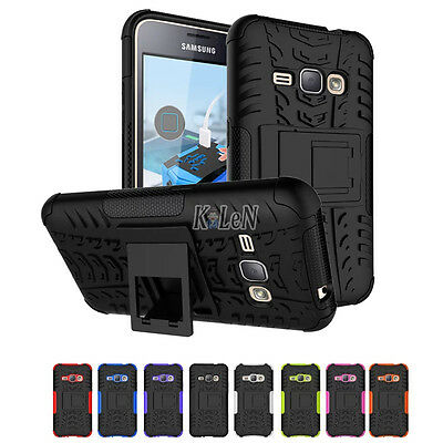 Shockproof Heavy Duty Stand Case Skin Cover For Samsung Galaxy J1(2016) SM-J120F