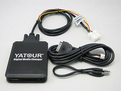 Yatour Car Digital Music Changer Ipod USB SD MP3 for Teana Bluebird Qashqai