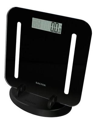 Salter 9147BK3R Stow-a-weigh Weight Analysing Bathroom Scales BMI Body Fat - New