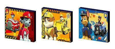 PAW PATROL d CANVAS WALL ART PLAQUES/PICTURES