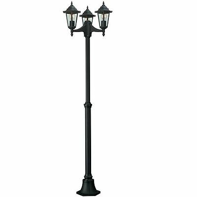 Philips Outdoor Lighting Bright 3 Headed Post Black, Special Offer €69.99