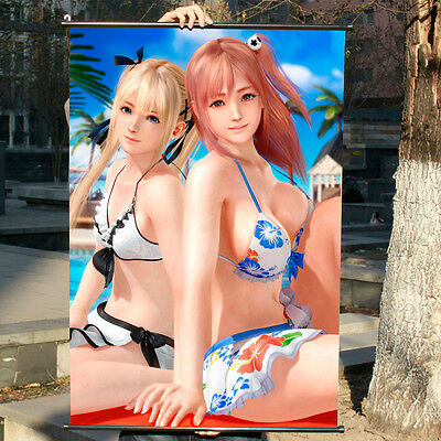 DEAD OR ALIVE XTREME DOAX  Anime Japanese Poster Wall Scroll Home Decor