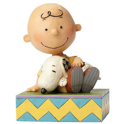 NEW OFFICIAL Peanuts by Jim Shore Charlie and Snoopy Figurine Figure 4049397