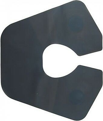 CoolBlades Black Silicone Hair Cutting Collar - Close Fitting to Keep Out Hair