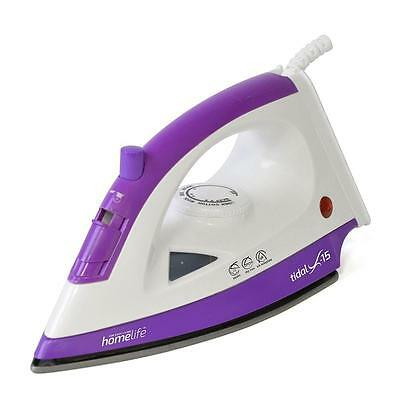 Lloytron E7305 Steam Iron 1200W Homelife Tidal X-15 With Non-Stick Soleplate New