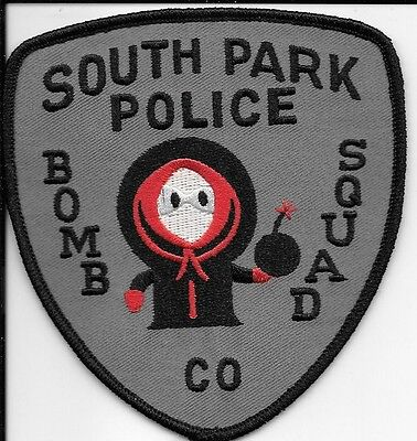 South Park Police Dept Bomb Squad Kenny And Gang Local State County Kenny