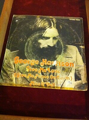 George Harrison Single De 1973