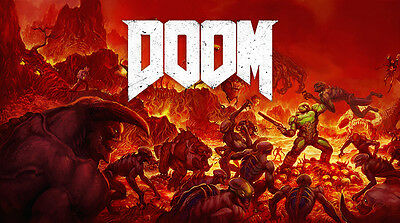 E208 Art The Ultimate DOOM 4 Game 18 24x36inch Poster New Gift