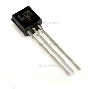 50Pcs Transistor Bc550 Bc550c Npn Low Signal General Purpose To-92 New Develop X