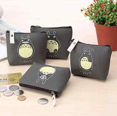 Ghibli My Neighbour Totoro Coins Purse Mini Stationery Case Cartoon Bag Wallet