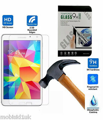 "100% Genuine Tempered Glass Screen Protector For Galaxy Tab A 7"" inch T280 T285"