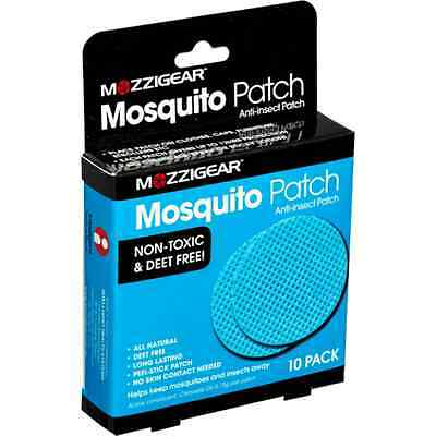 Mozzigear Mosquito Patch 10PK With Citronella Oil