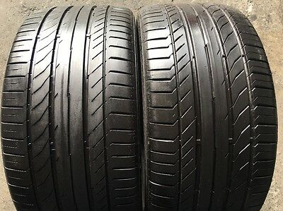 2 x 255 35 19 Continental Contact 5 Ssr % 90  Tread . Fitting Available, Freight