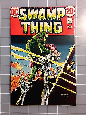 Swamp Thing 3 High-Grade VF/NM Abegale  Patchwork Man  Wrightson Art