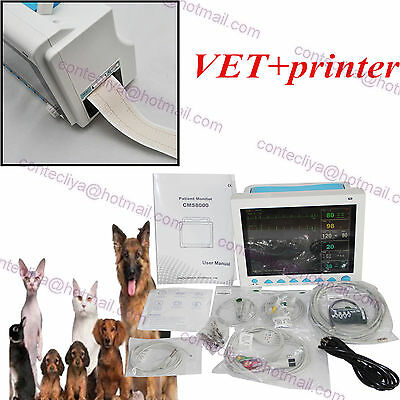 Portable Veterinary ICU vital Sign Patient monitor 6 Parameters CMS8000 For VET