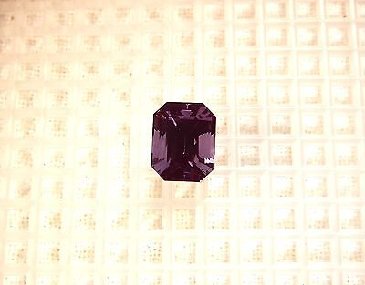 Fascinating Purple/blue Dichroic Alexandrite 9X7Mm Emerald Approx. 3.80Cts