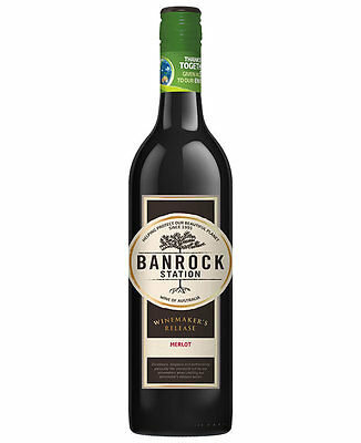 Banrock Station Winemakers Release Merlot 2014 (12 Bottles)