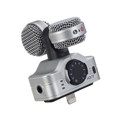 F/S NEW ZOOM iQ7 MS Stereo Microphone for iPhone/iPad/iPod touch JAPAN