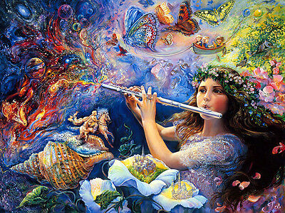 Diamond Painting-Diamant Stickerei/Malerei Diamant The Sound of Fantasy 75x55 cm