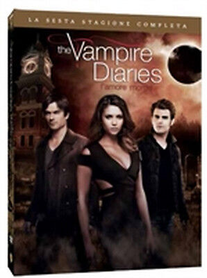 The Vampire Diaries - Stagione 6 (5 DVD)  - ITALIANO ORIGINALE SIGILLATO -