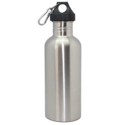 1L Stainless Steel Wide Mouth Cycling Sports Climbing hiking Water Bottle