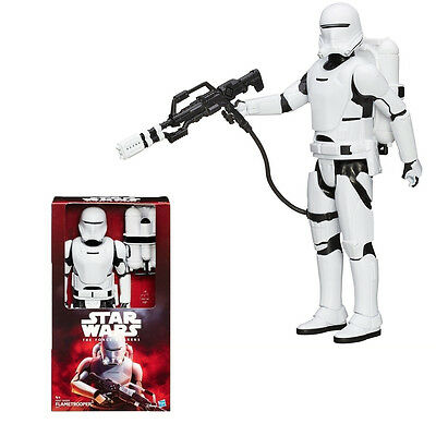 "Star Wars Episode 7 Deluxe 12"" Hero Series Flametrooper Action Figure"