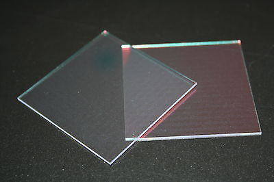 UV IR Cut Filter 10mm Square X 1.1mm Thick  (UVHM 101001-IRB3)